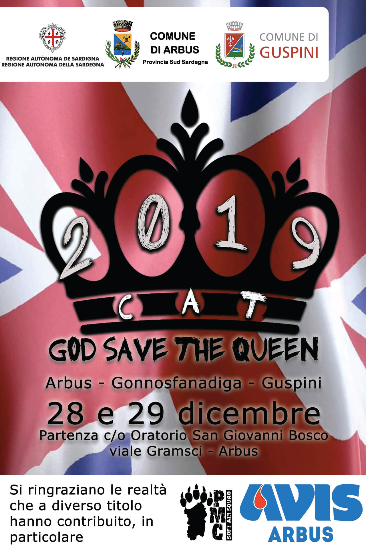 CAT 2019 - God save the Queen